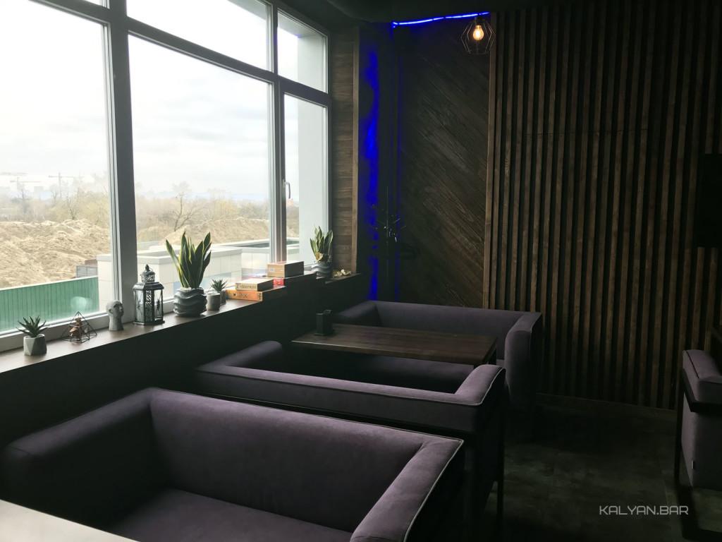 Endorphine Bar River на Осокорках: второй этаж заведения