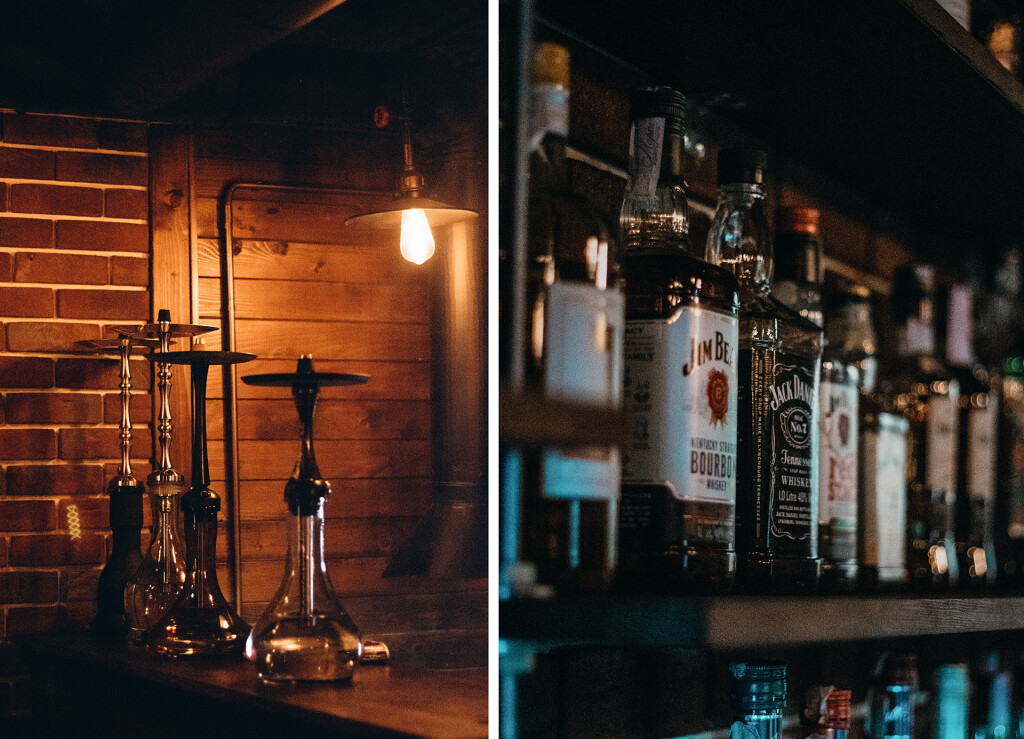 Кальяны и бар в Bricks Place