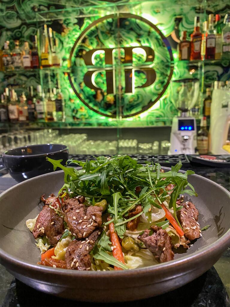 Теплый салат из телятины — Baribar