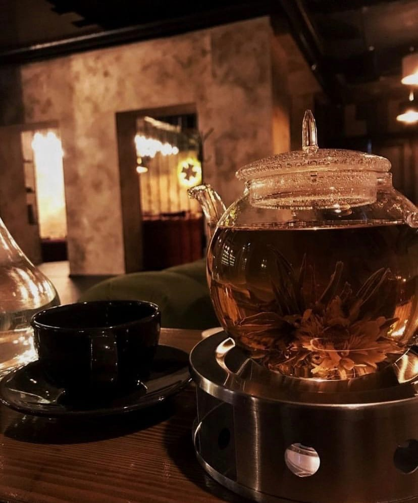 Чай идеально дополнит Ваш кальянный вечер в Chorse Lounge Москва