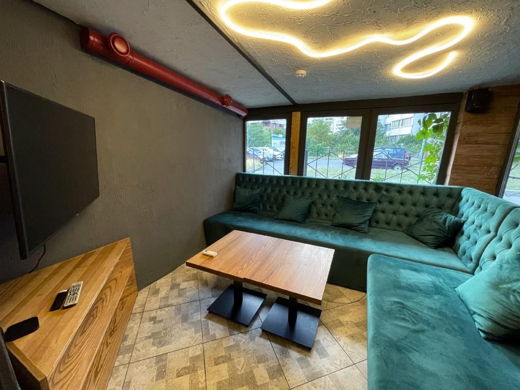 Одна из двух вип-комнат в Lampa Позняки